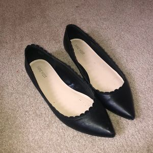 COPY - Black pointed flats